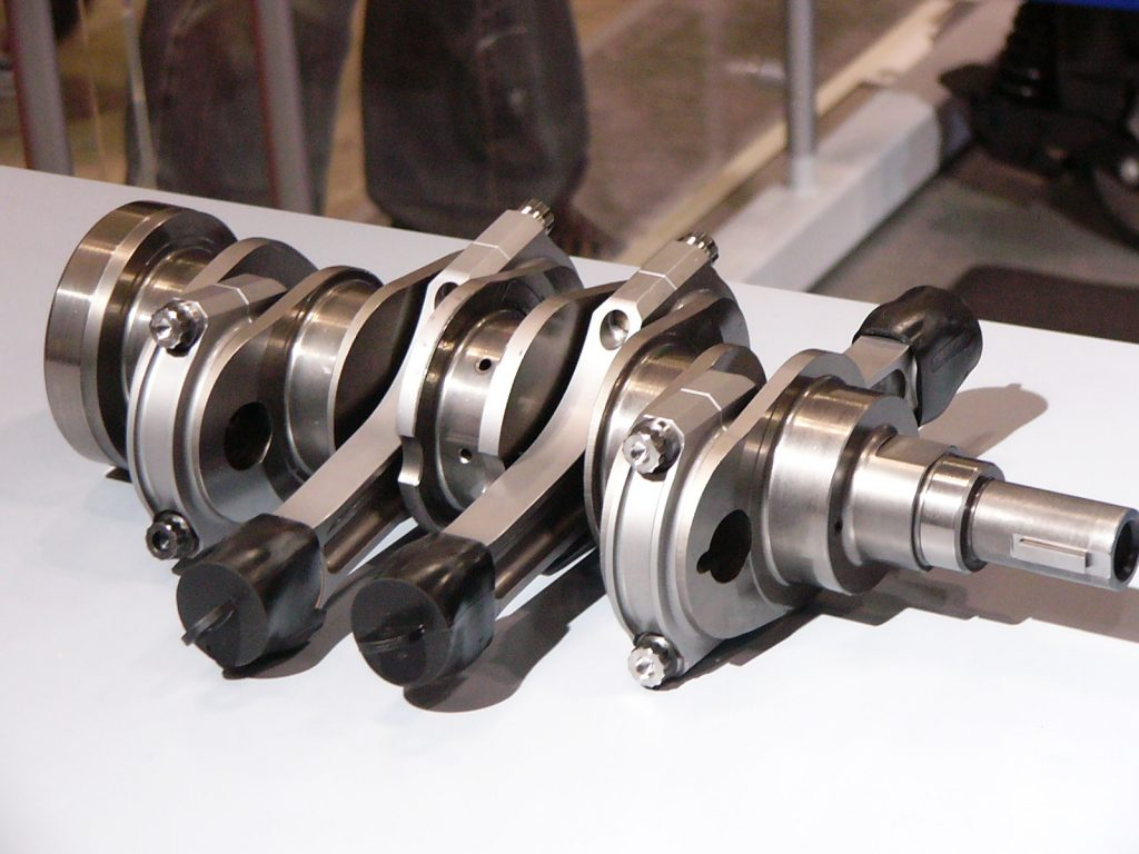 Crankshaft  of car